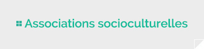 Associations socioculturelles